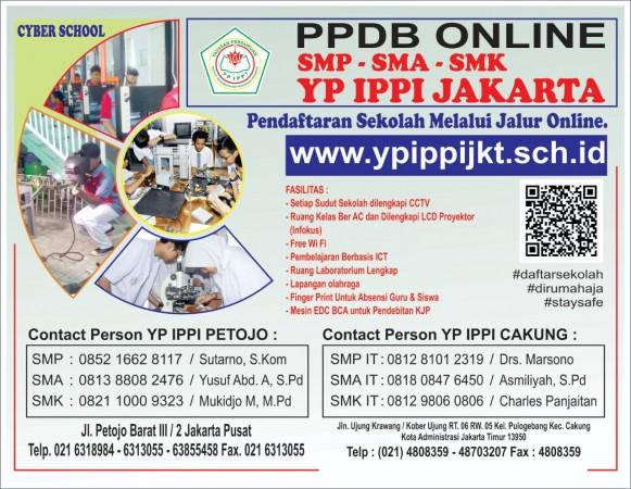 PPDB Online YP IPPI Jakarta